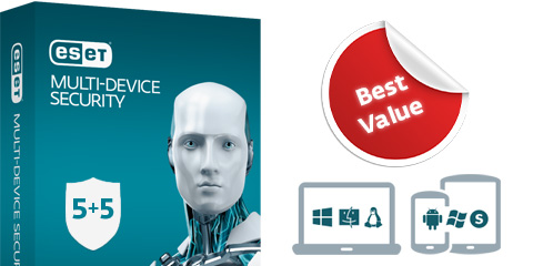 ESET Multi-Device Security Pack (5+5)